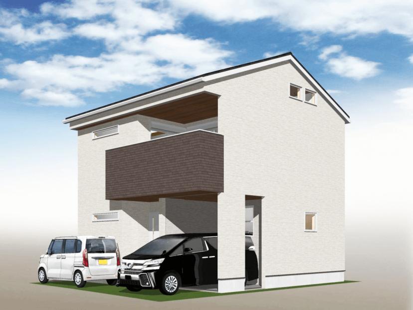 竹鼻地蔵寺南町3号地 新築 【2021年6月完成予定】