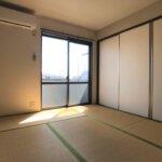 和室です。約6.1帖ございます。