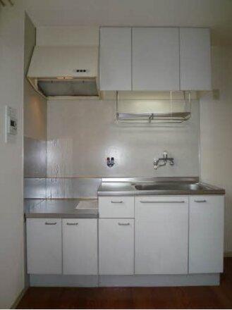 キッチン周りです。ガスコンロ設置可能。