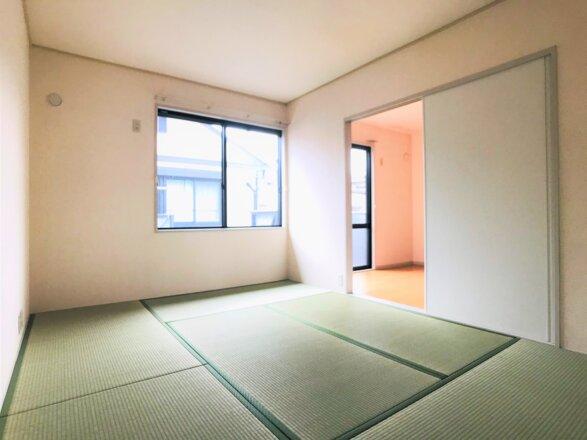 和室です。約6.2帖ございます。
