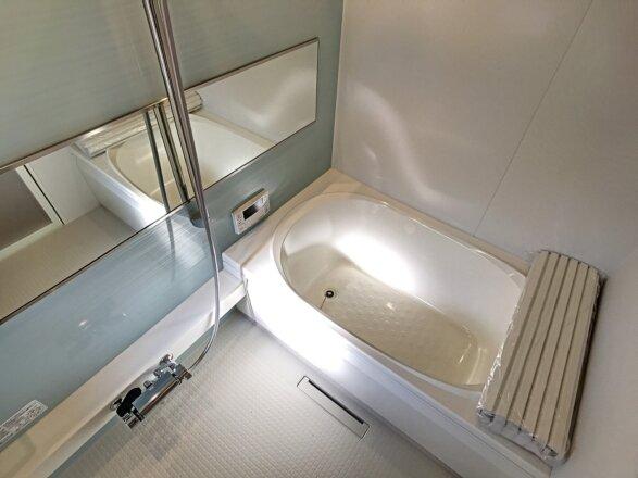 設備充実のバスルームです。